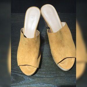 Shoes - H&M cork wedges